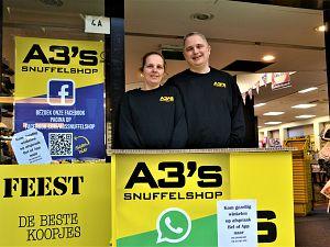 A3's Snuffelshop: Nieuwe naam, vertrouwd adres!
