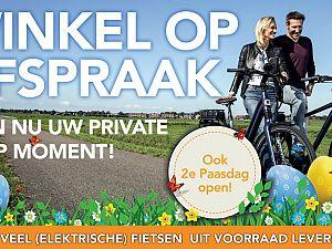 Nieuwe fiets?  Winkel op afspraak bij Van Kortenhof!
