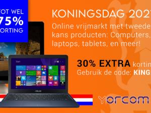 Koningsdag: Online Vrijmarkt bij Yorcom!