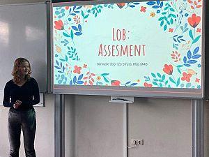 Presentatie Profielwerkstuk op De Mavo Vos