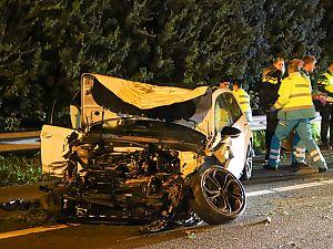 Dodelijk ongeval op de A20