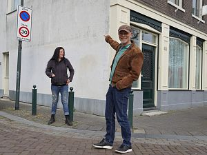 John Huf wil 17 muren beschilderen in de VOP