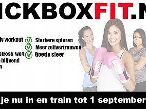 Kickboksen is de snel groeiende sport van Nederland