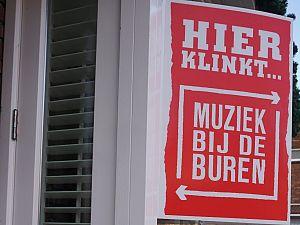 Muziek bij de Buren Vlaardingen wil door!