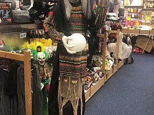 Grote voorraad Halloweenspullen bij A3's Snuffelshop