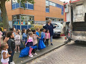 Leerlingen Het Visnet geven het goede voorbeeld