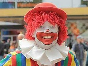 Clown Wouter bij A3's Snuffelshop