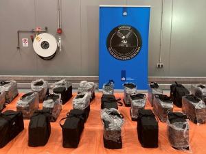 Douane onderschept nog 712 kilo cocaïne