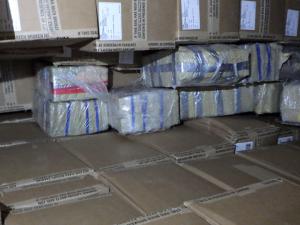 470 kilo cocaïne tussen de kleding