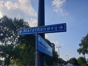 Marathonweg dit weekend dicht