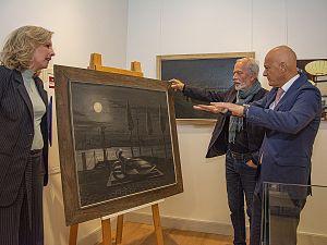 Burgemeester Wijbenga vindt ontbrekend schilderij terug