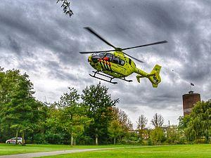 Traumahelikopter al vroeg in Vlaardingen
