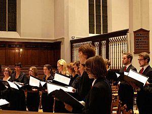 Kamerkoor Canticum Groninghae in Groote Kerk