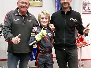 Rocco de Heer gaat rijden voor het beste kartteam van Nederland