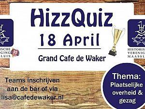 Win de nieuwe wisselbeker van de HizzQuiz!