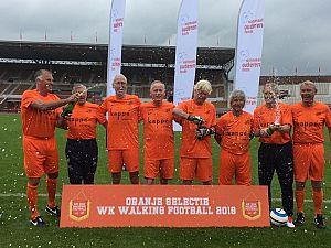 Excelsior Maassluis start met walking football