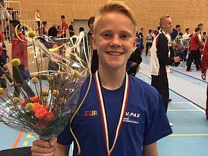 Maassluise Olaf Nederlands kampioen meerkamp