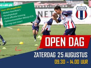 Open Dag Excelsior Maassluis op 25 augustus