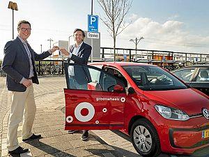 Greenwheels plaatst eerste auto in Maassluis