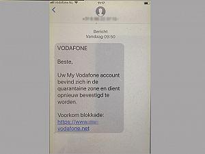 Pas op voor nep-berichten uit naam Vodafone
