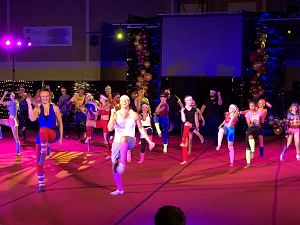 Demonstratie GV Maassluis één groot musicalfeest