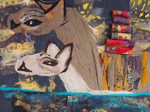 Nora van Klingeren kunstenaar van de maand in Kunstuitleen