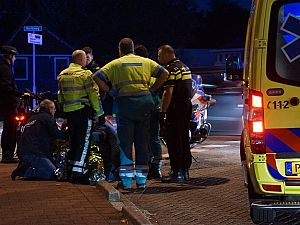 Meisje gewond na aanrijding met motor