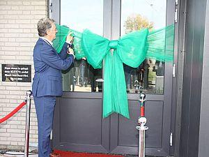 Burgemeester Haan opent nieuwe kleedkamers M.S.V.'71