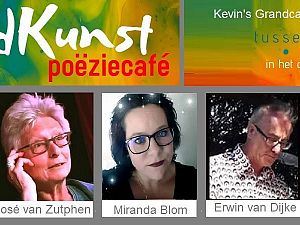 Dichtersavond bij Poëziecafé Woordkunst