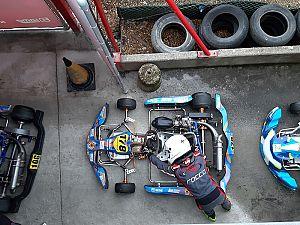 Lastige eerste race Rocco de Heer in Mariembourg