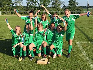 Meiden de Groene Hoek winnen regiofinale
