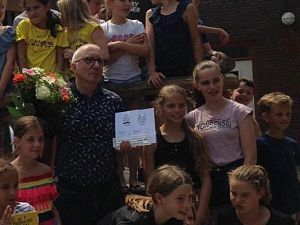 Arend van Dam wint Zilveren Griffel