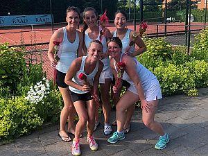 Bequick Dames 1 kampioen!