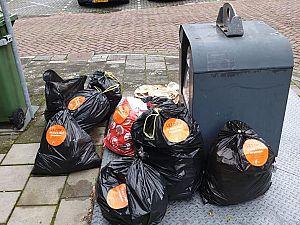 Handhaving onderzoekt verkeerd aangeboden afval
