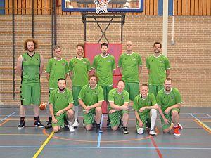 Green Eagles Heren 1 wint door score in de buzzer
