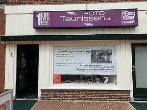 Foto Teunissen Maassluis sluit per 6 juni