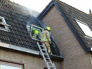 14-jarige jongen veroorzaakt brand in dak