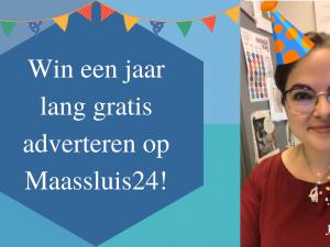 Win een jaar lang gratis adverteren op Maassluis24!