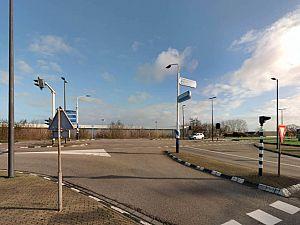 Kruising op Maasdijk dit weekend afgesloten