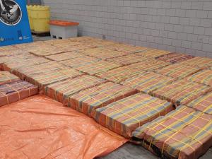 Douane onderschept 3001 kilo cocaïne