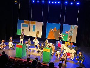 Leerlingen uit groep 8 spelen eindmusical in Theater Koningshof