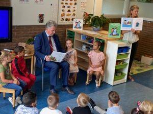 Gezonde start van schooljaar met burgemeester Haan