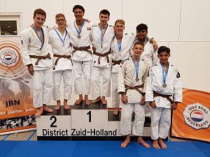 Elf Mahorokan judoka's plaatsen zich voor NK -18 jaar