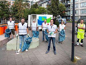 Bewoners maken eigen wijk een stukje schoner