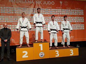Coen van Winden Nederlands kampioen judo
