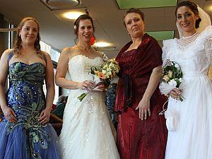 Bruidsshow op Valentijnsdag in DrieMaasHave