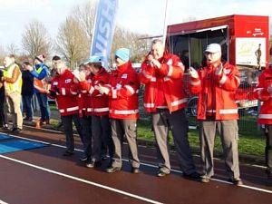 Rode Kruis bij Ruitenburg halve marathon