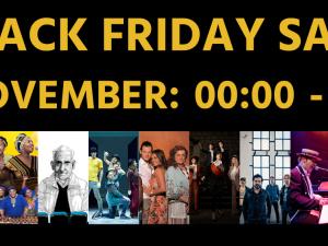 Black Friday bij de Stadsgehoorzaal: tweede kaartje gratis!