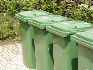 Groene bak wordt tijdens zomermaanden wekelijks geleegd