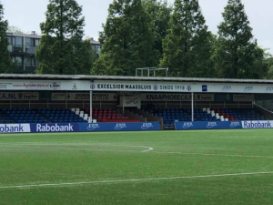 Excelsior Maassluis moet meerdere erkennen in FC Lisse